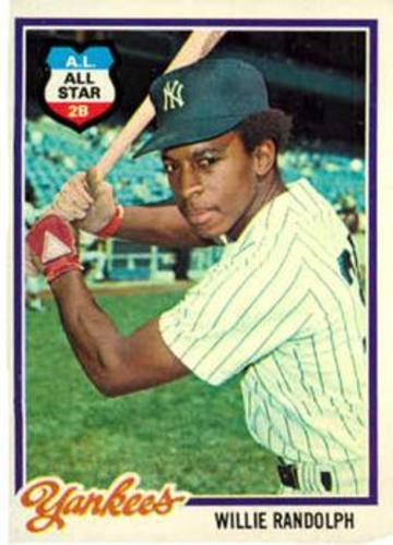 Photo of 1978 Topps #620 Willie Randolph