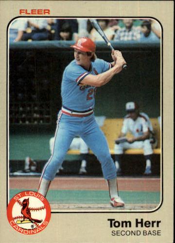 Photo of 1983 Fleer #9 Tom Herr