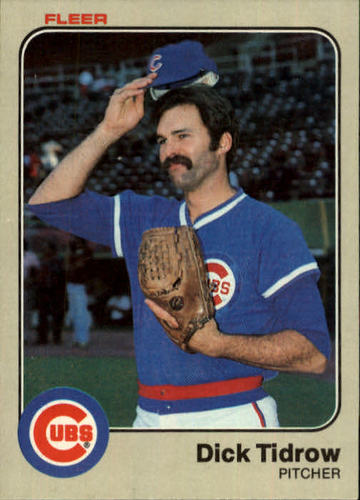 Photo of 1983 Fleer #510 Dick Tidrow