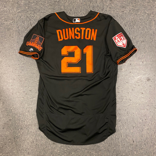 Photo of 2019 Team Issued Spring Training Jersey - #21 Shawon Dunston - Size 46