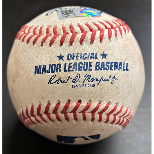 Photo of 2020 Detroit Tigers Mystery Game-Used Baseball (MLB AUTHENTICATED)