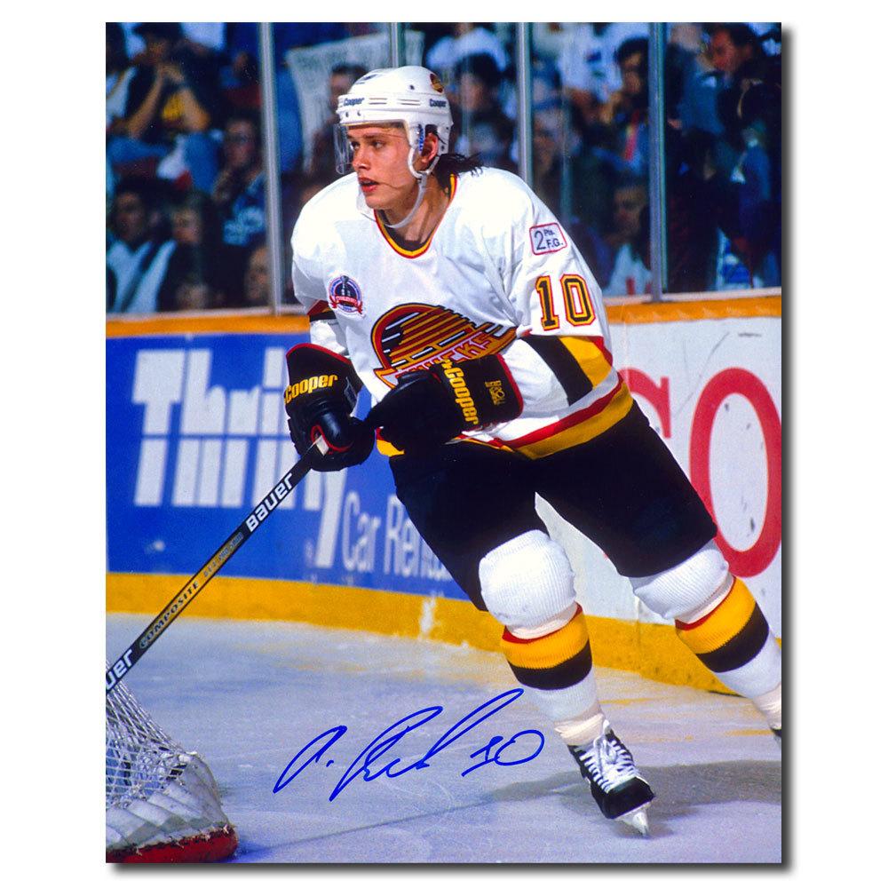 Pavel Bure Vancouver Canucks BREAKOUT Autographed 8x10
