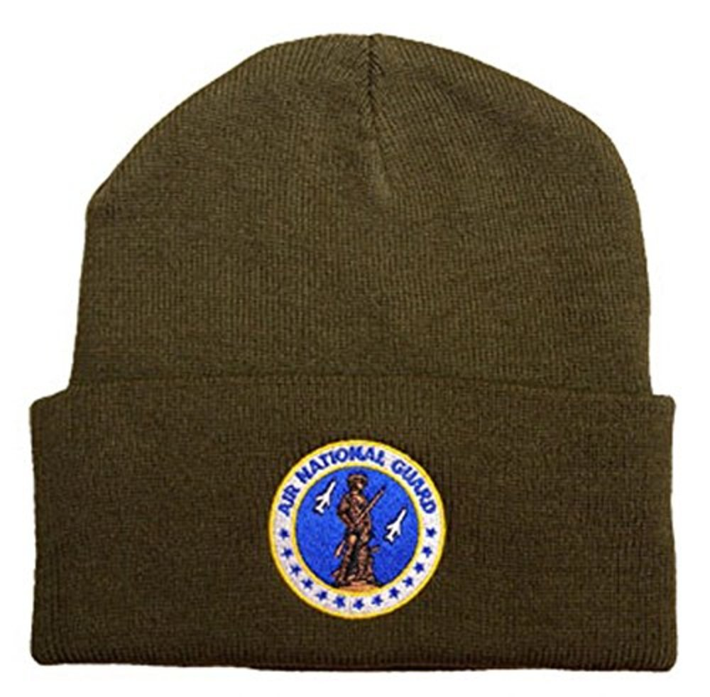 Photo of Air National Guard Embroidered Polyester Knit Watch Cap