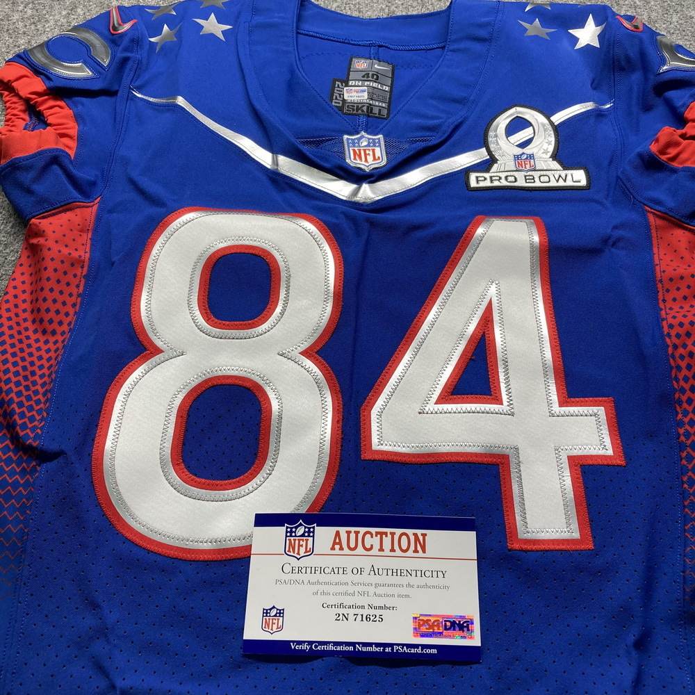 NFL - Bears Cordarrelle Patterson Special Issued 2021 Pro Bowl Jersey Size 40