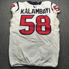 London Games - Texans Peter Kalambayi Game Used Jersey (11/3/19) Size 48
