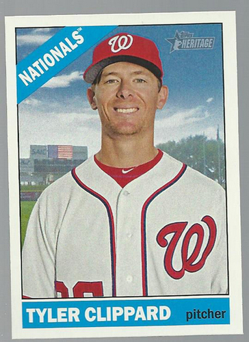 Photo of 2015 Topps Heritage #153 Tyler Clippard