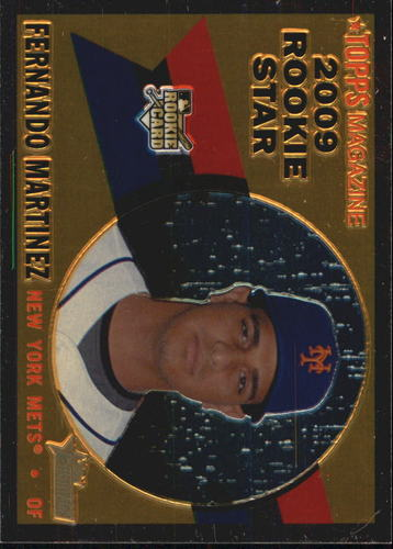 Photo of 2009 Topps Heritage Chrome #CHR151 Fernando Martinez
