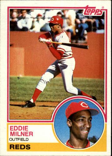Photo of 1983 Topps #449 Eddie Milner