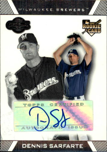 Photo of 2007 Topps Co-Signers #118 Dennis Sarfate AU (RC)