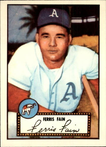 Photo of 1983 Topps 1952 Reprint #21 Ferris Fain