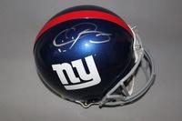 NFL - GIANTS ODELL BECKHAM SIGNED GIANTS PROLINE HELMET