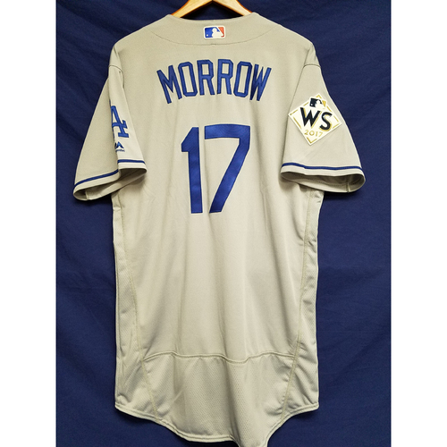 Photo of Brandon Morrow 2017 Road World Series Team-Issued Jersey