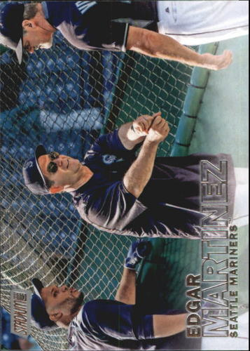 Photo of 2016 Stadium Club #208 Edgar Martinez