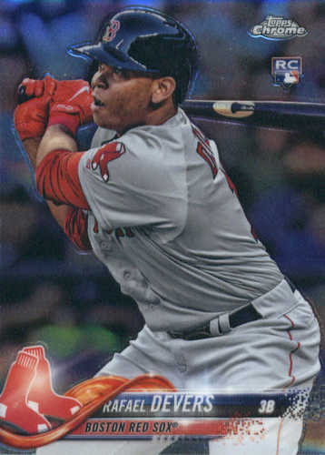 Photo of 2018 Topps Chrome #25 Rafael Devers Rookie Card