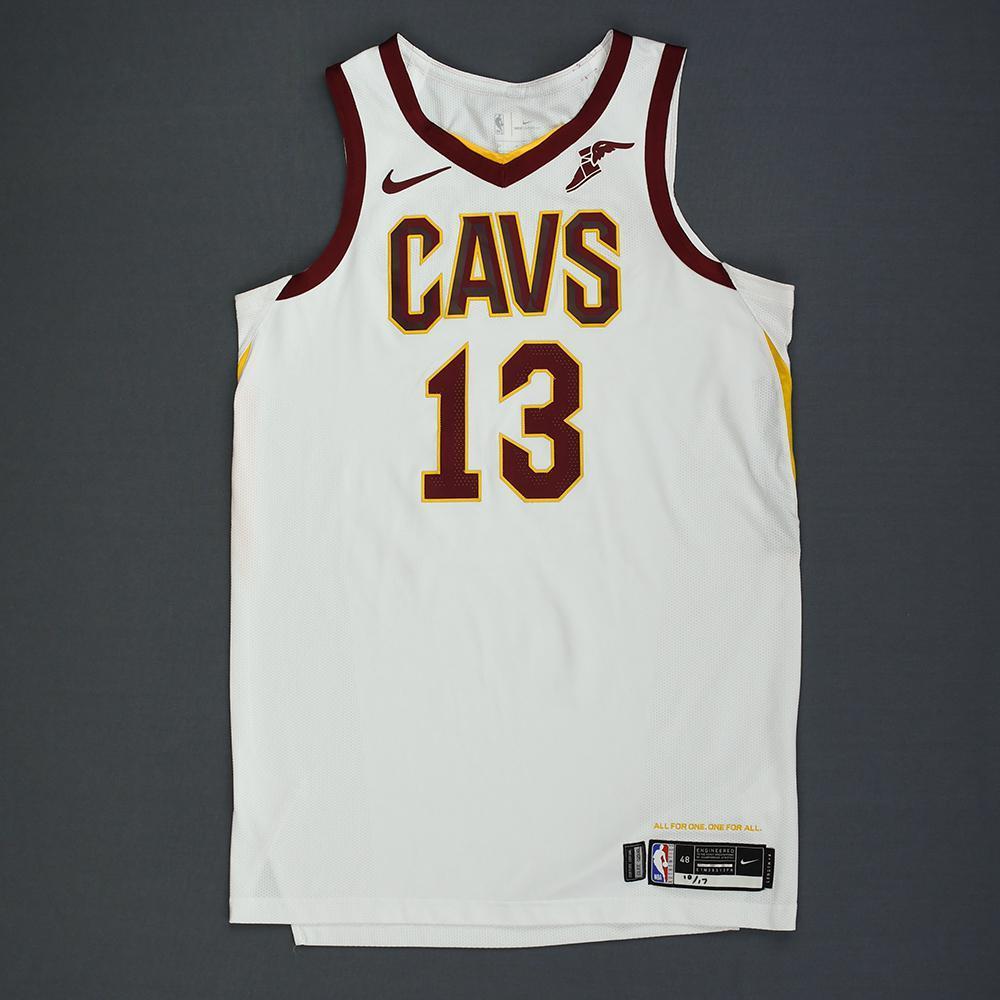 sports shoes 7fa0f 6a50c Tristan Thompson - Cleveland Cavaliers - Kia NBA Tip-Off ...