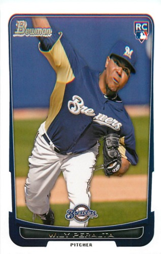 Photo of 2012 Bowman Draft #48 Wily Peralta RC