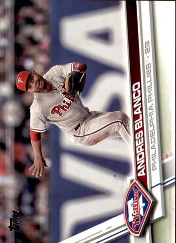 Photo of 2017 Topps #690 Andres Blanco