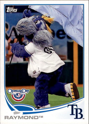 Photo of 2013 Topps Opening Day Mascots #M14 Raymond