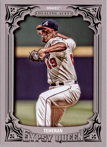 Photo of 2014 Topps Gypsy Queen Dealing Aces #DAJT Julio Teheran