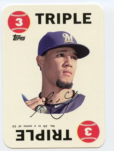 Photo of 2015 Topps Archives '68 Topps Game Inserts #29 Carlos Gomez