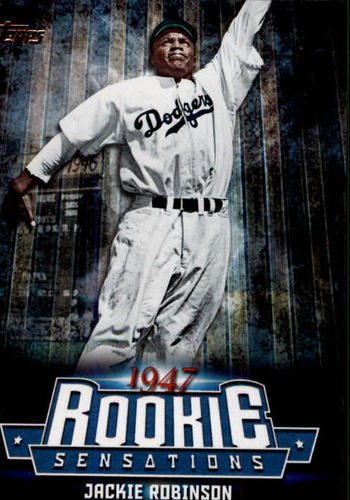 Photo of 2015 Topps Update Rookie Sensations #RS16 Jackie Robinson