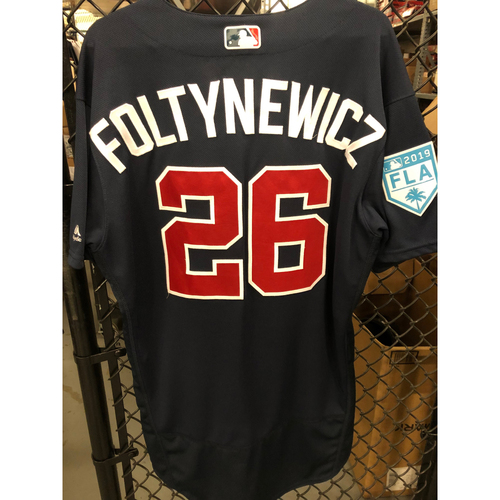 Mike Foltynewicz Game Used Spring Training Jersey