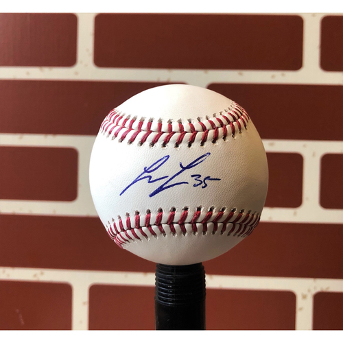 Photo of Lance Lynn Autographed Final Season Logo Baseball