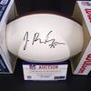NFL - Browns Joel Bitonio signed panel ball