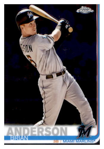 Photo of 2019 Topps Chrome #12 Brian Anderson