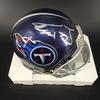 NFL - Titans Taylor Lewan Signed Mini Helmet