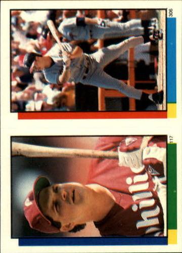 Photo of 1990 Topps Sticker Backs #64 Dennis Eckersley