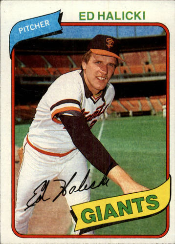 Photo of 1980 Topps #217 Ed Halicki