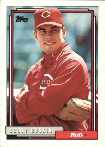 Photo of 1992 Topps Traded #96T Scott Ruskin
