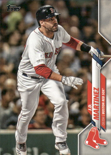 Photo of 2020 Topps #269 J.D. Martinez