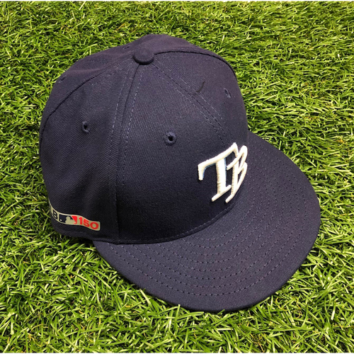 Photo of Opening Day Game Used Cap: Michael Perez #7 - March 28, 2019 v HOU