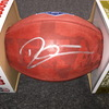 NFL - Chargers Derwin James signed authentic football w/ 2018 Draft and Texas Ghost Logo