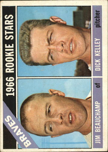 Photo of 1966 Topps #84 Rookie Stars/Jim Beauchamp/Dick Kelley