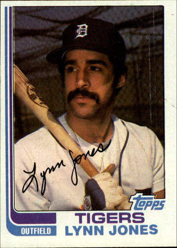 Photo of 1982 Topps #64 Lynn Jones