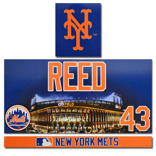 Photo of Addison Reed #43 - Game Used Locker Nameplate - 2017 Season