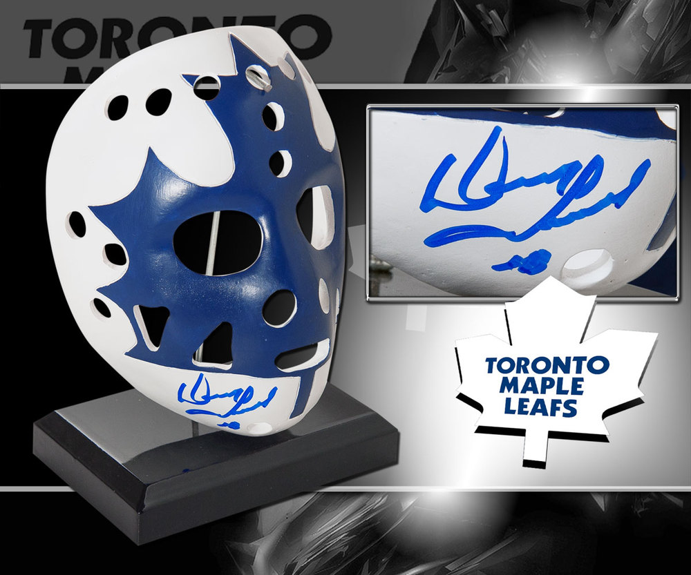 Doug Favell Toronto Maple Leafs Autographed Mini Mask
