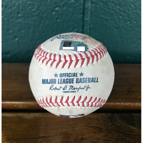 Photo of Cardinals Authentics: Game-Used Baseball Pitched by Jordan Hicks to Tim Anderson *Swinging Strike* *102MPH*