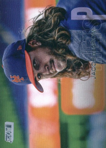 Photo of 2018 Stadium Club #42 Jacob deGrom