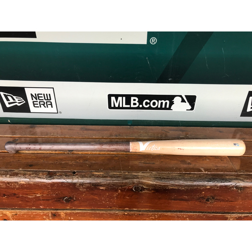 Photo of Cardinals Authentics: Game-Used Luke Weaver Broken Bat