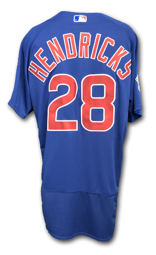 Photo of Kyle Hendricks Team-Issued Jersey -- Size 46 -- Spring Training 2019
