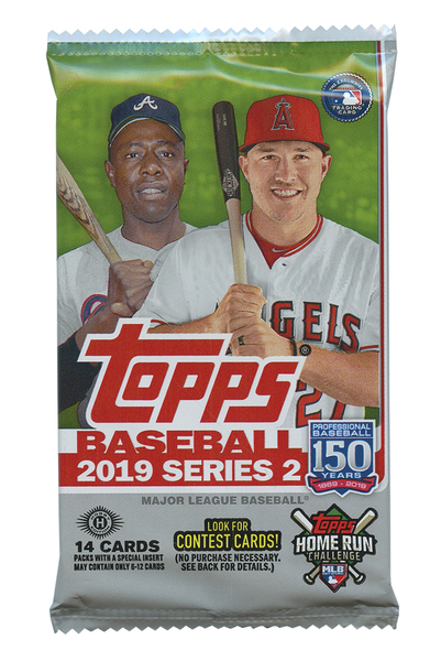 Toronto Blue Jays 2019 MLB Baseball Card Set - Series 2 by Topps