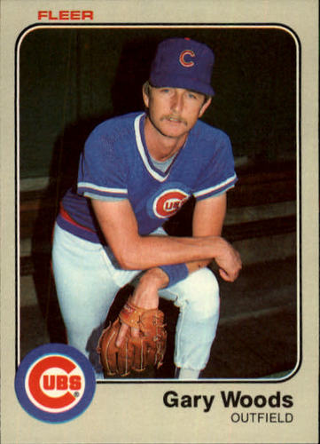 Photo of 1983 Fleer #512 Gary Woods