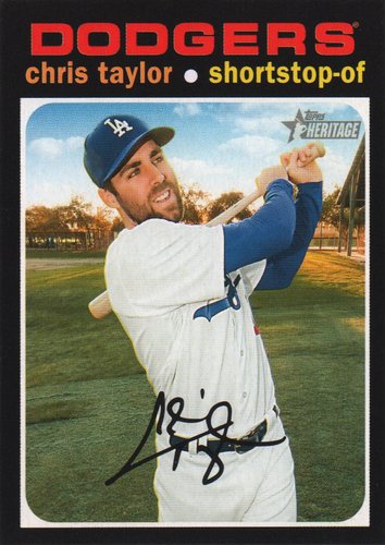 Photo of 2020 Topps Heritage #57 Chris Taylor