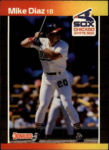 Photo of 1989 Donruss #655 Mike Diaz