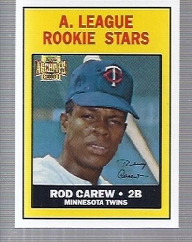Photo of 2001 Topps Archives #49 Rod Carew 67