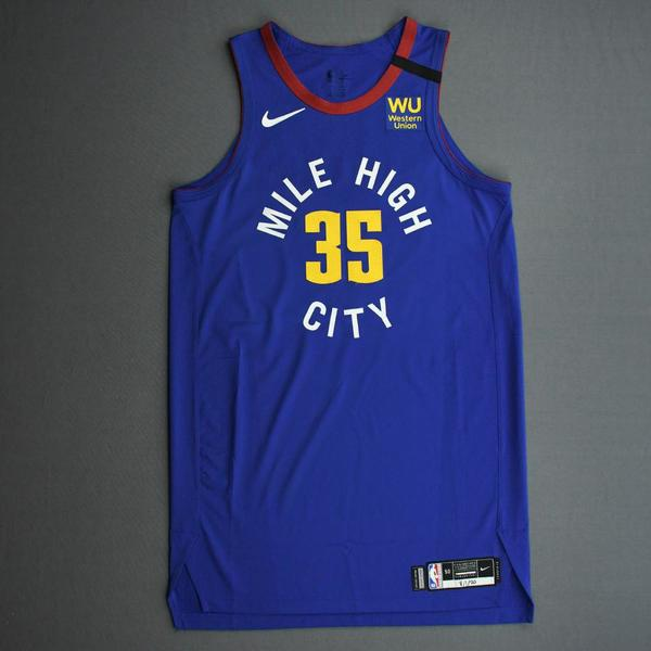 Image of PJ Dozier - Denver Nuggets - Game-Worn Statement Edition Jersey - 2019-20 NBA Season Restart with Social Justice Message